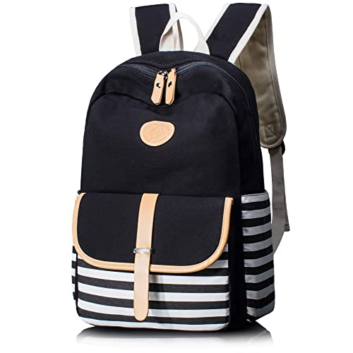 5e90874bdb9 Black and White Backpack: Amazon.com