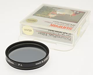 with specialty Schott glass in floating brass ring 708280 Heliopan 82mm Slim Circular Polarizer Filter