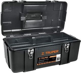 """Truper CHP-23X, Caja para herramienta, calidad industrial, broches metálicos, 23"""""""