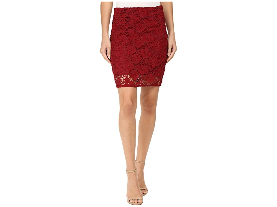Sanctuary Hand Craft Skirt (Boheme Red) Women