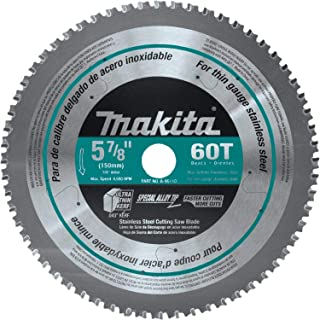 Makita A-96110 60T Stainless Steel Carbide-Tipped Saw Blade, 5-7/8