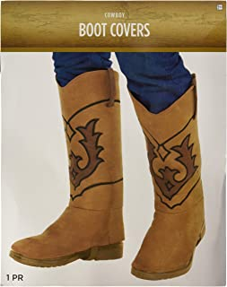 costume cowboy boot covers