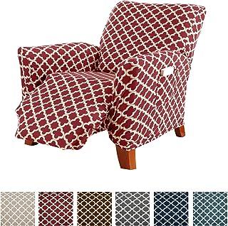 Printed Stretch Recliner Furniture Cover Slipcover Brenna...