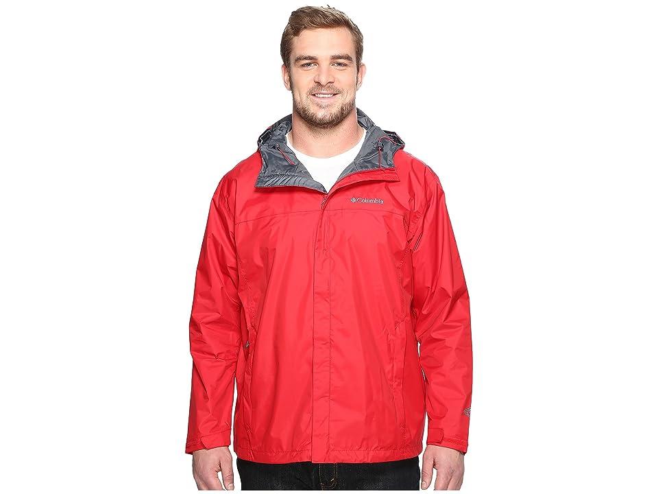Columbia Big Tall Watertighttm II Jacket (Mountain Red) Men