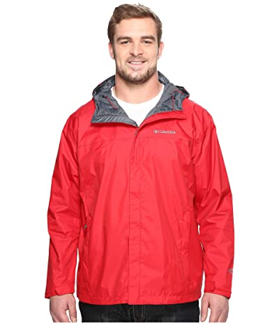 Columbia Big Tall Watertighttm II Jacket (Mountain Red) Men