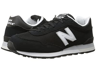 New Balance Classics ML515 (Black/White) Men