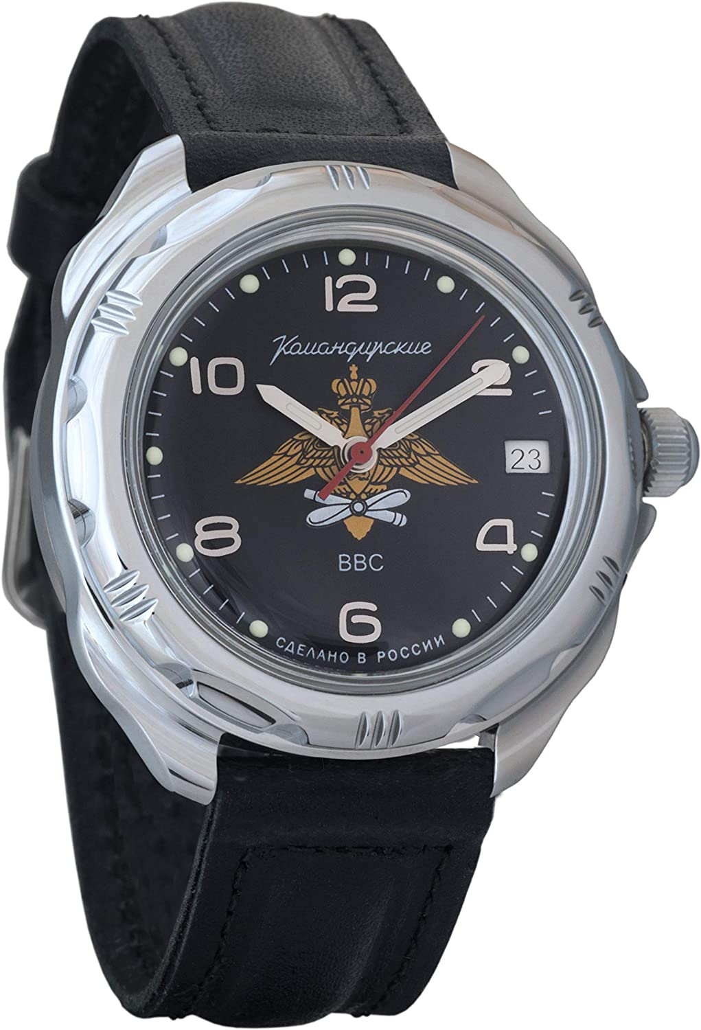 Vostok Komandirskie Russian Air 2021 spring and summer new Force 67% OFF of fixed price Mens Milita VVS Mechanical