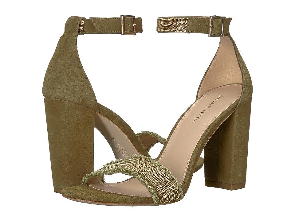 Pelle Moda Bonnie 6 (Khaki Linen) High Heels