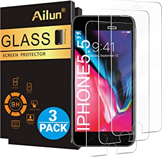 Ailun Screen Protector for iPhone 8 Plus/7 Plus/6s Plus/6 Plus-5.5 Inch 3Pack 2.5D Edge..
