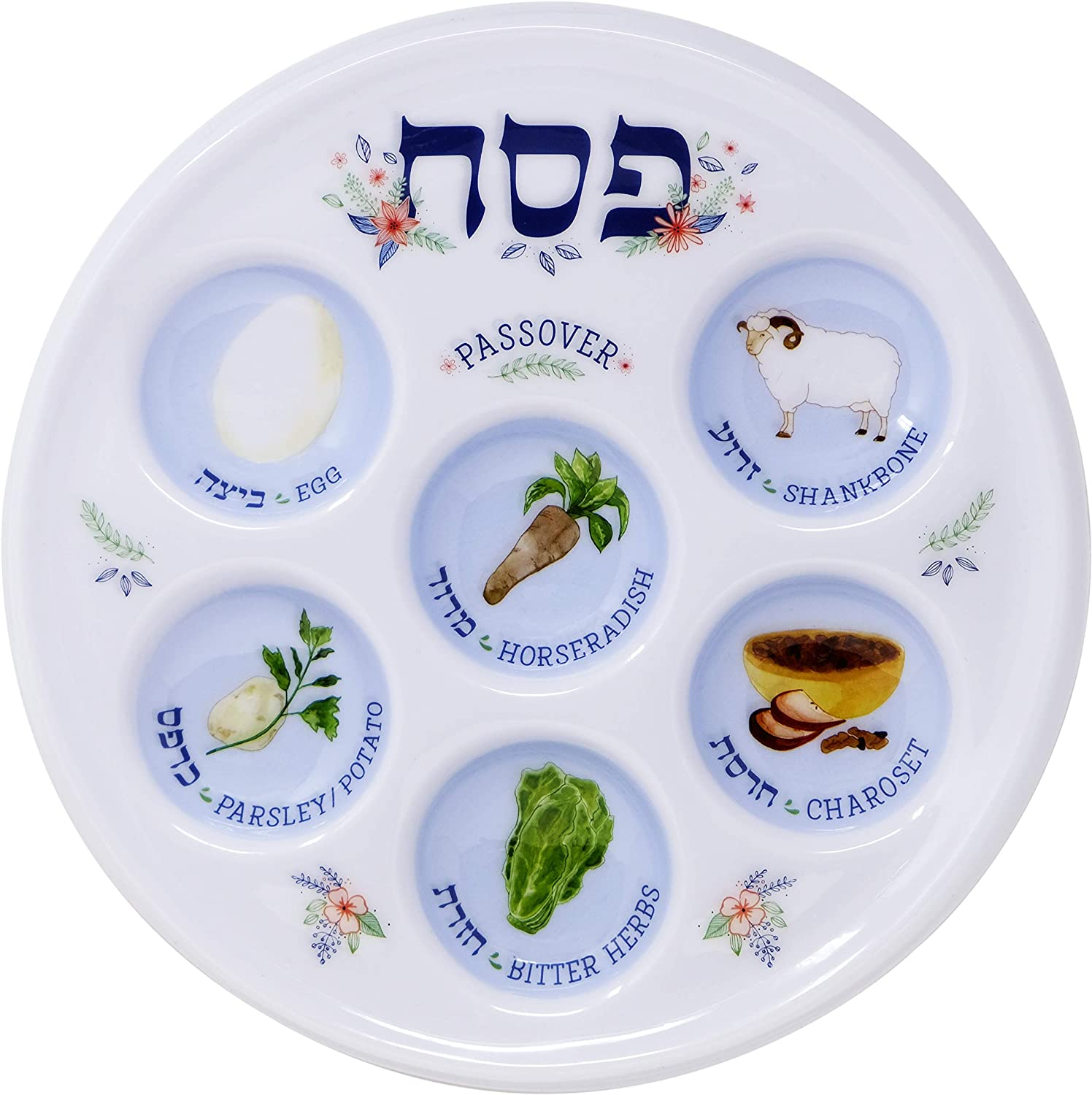 Passover Seder Plate Deluxe Disposable specialty shop 10