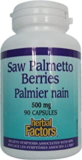 Natural Factors Saw Palmetto 500MG 90 Capsules