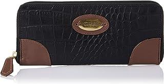 Hidesign EOSS Black & Tan Leather Women's Wallet