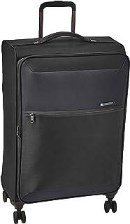 Samsonite 72H DLX Spinner Unisex Medium Black Polyamide Luggage Bag TSA Approved DC6009002