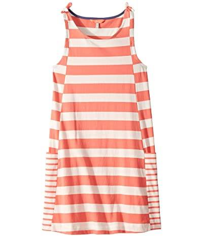 Joules Kids Madeline Dress (Toddler/Little Kids/Big Kids) (Pink Cream Stripe) Girl