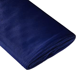 BBCrafts Navy Blue Polyester Tulle Fabric Bolt 54 inch 40 Yards