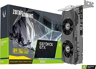 ZOTAC GAMING GeForce GTX 1650 LP 4GB GDDR6 128ビットゲームグラフィックカード 超コンパクト ロープロファイル ZT-T16520H-10L