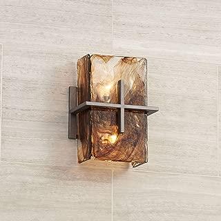 Asian Wall Light Bronze Gold 8