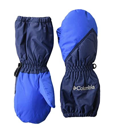 Columbia Kids Chippewatm Long Mitten (Toddler) (Collegiate Navy/Bright Indigo) Extreme Cold Weather Gloves