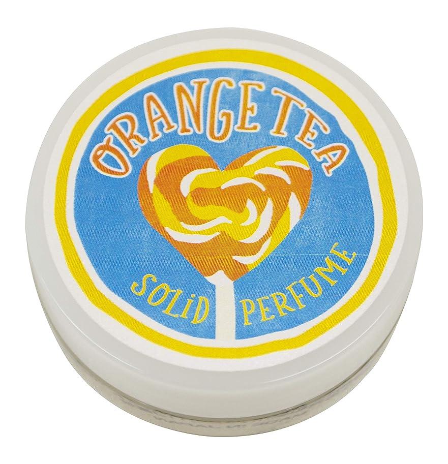 沈黙軽量範囲コトラボ 練り香水 8g オレンジティー