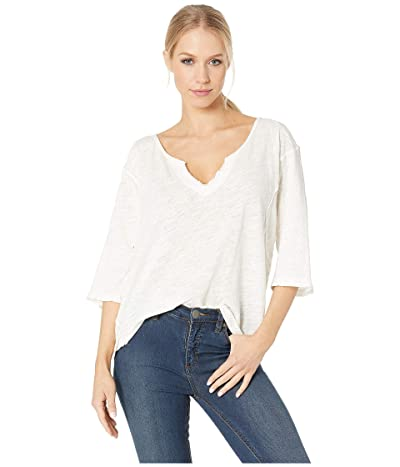Free People Head in the Clouds Solid (Ivory) Women