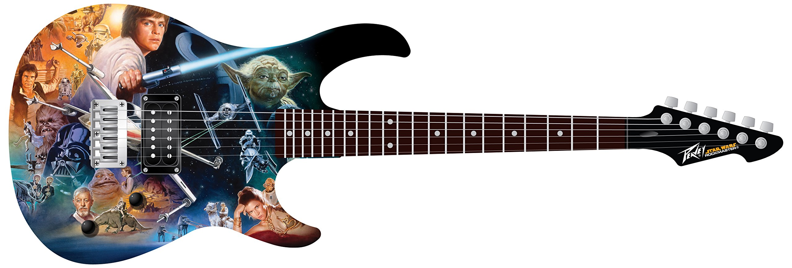 Cheap Peavey 03025300 STAR WARS Classic Collage Rockmaster Electric Guitar Pack Black Friday & Cyber Monday 2019