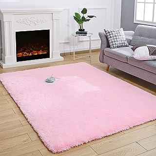 Kelarea Super Soft Shaggy Rug Fluffy Bedroom Carpets,...