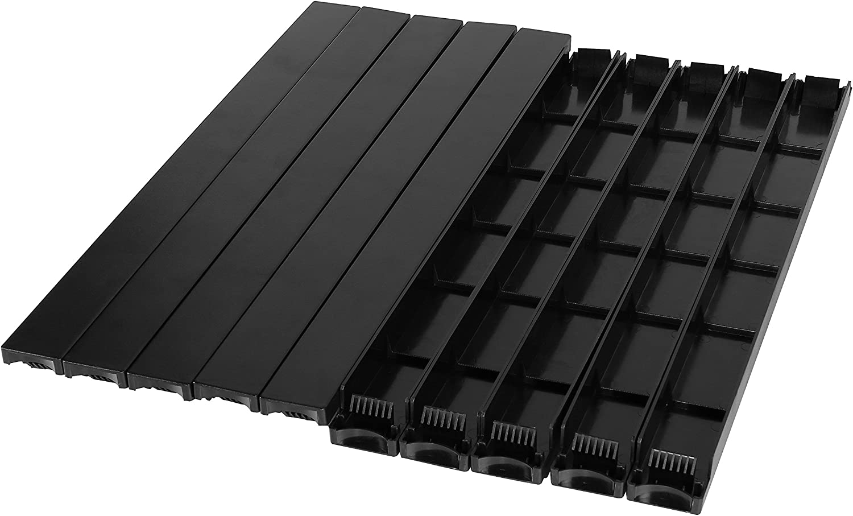 CyberPower CRA20001 Rack Blanking Panel kit Cases, Black