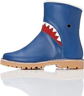 Marca Amazon - RED WAGON Botas con Tiburón para Niños