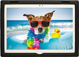 BobjGear Bobj Carcasa Resistente para Tablet Lenovo Tab 4 10 Plus (TB-X704V, TB-X704F, TB-X704L, TB-X704Y, MotoTab TB-X704A) (Negro)