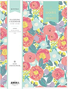 Day Designer for Blue Sky 2021-2022 Academic Year Monthly Planner, 8.5