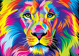 Buffalo Games - Vivid Collection - The King - 300 Large Piece Jigsaw Puzzle