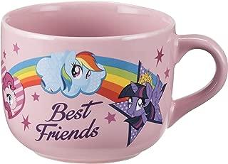 Vandor 42053 My Little Pony Friends 20 Ounce Ceramic Soup Mug, Multicolored