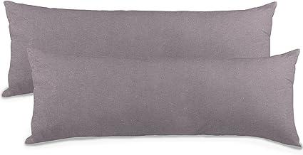 Seitenschläferkissenbezug Stillen Baby Jersey 40x120 uni ClassicLine aqua-textil
