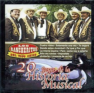 Los Rancheritos del Topo Chico (20 Joyas de la Historia Musical)