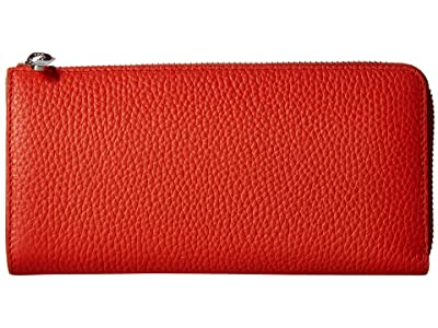 ECCO SP 3 Zip Around Wallet (Fire) Wallet Handbags