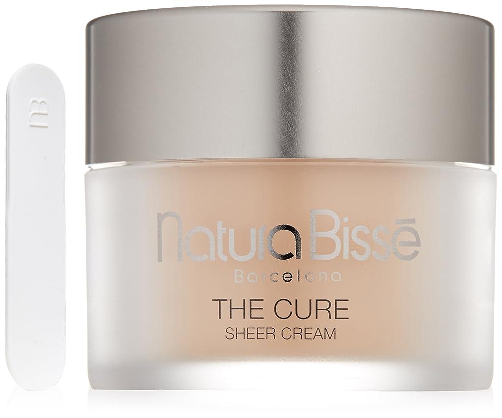 移行する必要性器用Natura Bisse The Cure Sheer Cream Moisturizer Sunscreen 1.7 oz