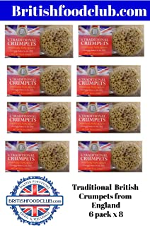 Bundle of 8 items Lakeland Bake, Traditional British Crumpets, 6ct, Expire Aug 2020 Delivers 3-5 Days USA