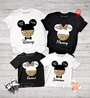 Animal Kingdom Shirt, Mommy Daddy Baby Shirts, Family Matching T-Shirt, Family Vacation Tee, Africa Print Cheetah Safari Shirt