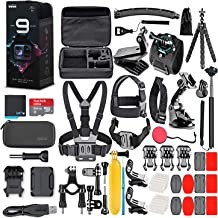 GoPro HERO9 Black - Waterproof Action Camera with Front LCD and Touch Rear Screens, 5K HD Video, 20MP Photos, 1080p Live S...