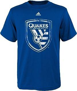 MLS by Outerstuff Boys War Paint Logo Short Sleeve Tee Kids Medium 5-6 Sun