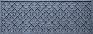 Bungalow Flooring Waterhog Indoor/Outdoor Runner Rug, 22 x 60 inches, Made in USA, Skid Resistant, Easy to Clean, Catches Water and Debris, Cordova Collection, Bluestone