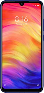 Xiaomi Redmi Note 7 Dual SIM - 64GB, 4GB RAM, 4G LTE, Blue – International Version