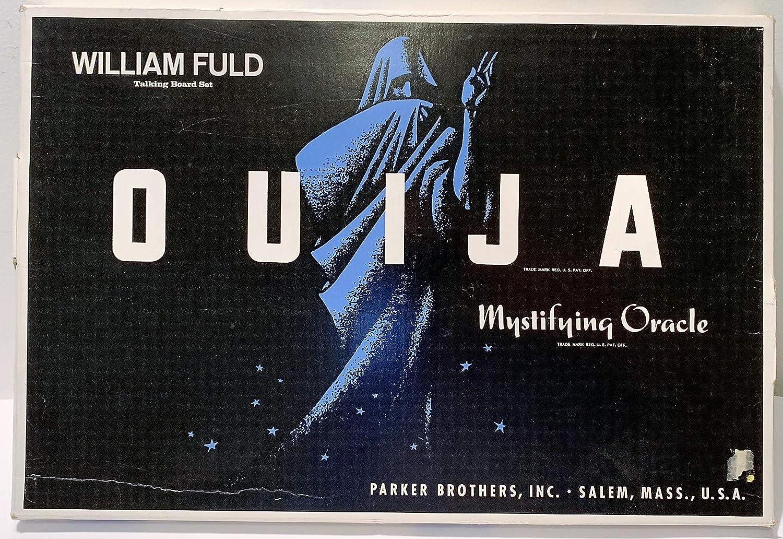Ouija Mystifying Oracle Talking Board Set William Fuld  Parker Bredhers by OUIJA