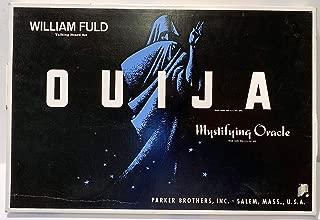 Ouija Mystifying Oracle Talking Board Set William Fuld - Parker Brothers by OUIJA