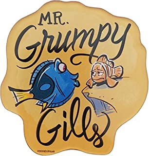 Disney Parks - Finding Dory - Mr Grumpy Gills Magnet