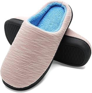 Pantofole Invernali Donna in Peluche da Casa - Scarpe Pantofole in Feltro Ultra-Morbido e Caldo per Casa/Camera da Letto, ...
