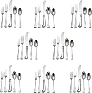 Reed & Barton Colonial Williamsburg Royal Scroll 18/10 Stainless Steel 40pc. Set (Service for Eight)
