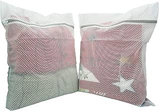 BABAhouse Extra Large Heavy Duty Honeycomb Mesh Laundry Bag,Travel Storage Organize Bag,Wash Bag for Laundry,2PCS
