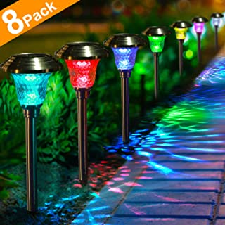Best stainless steel solar garden lights Reviews