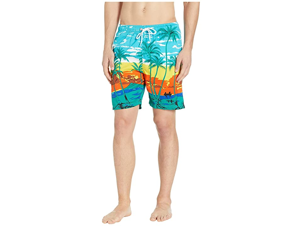 U.S. Surf Club Shore Swim Shorts (Swimming Blue) Men